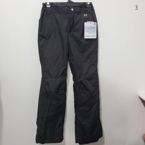 Free Country Black Snow Pants Size S NWT
